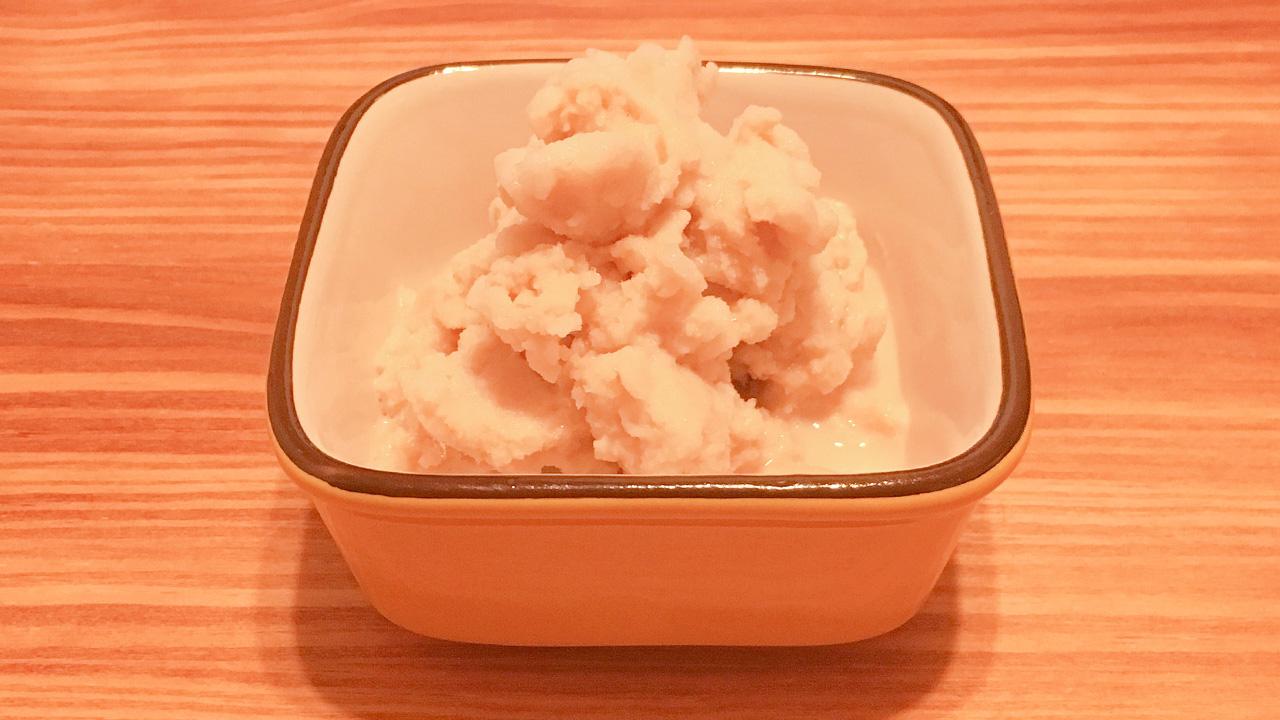 豆乳アイス少量