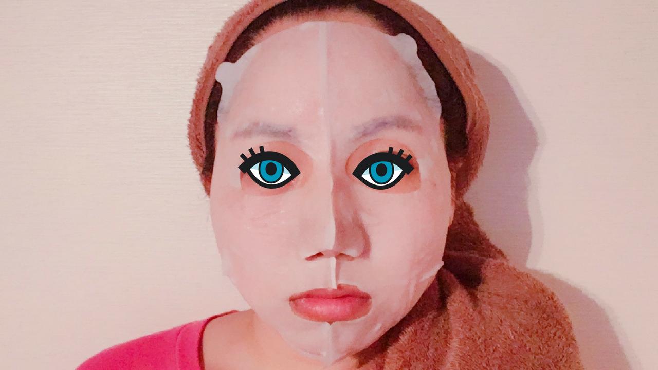 マスク正面